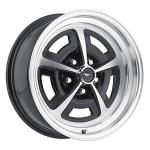 VANNE ALU 17X7 5X45 MAGNUM 500 SATIINIMUSTAMACHINED